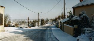 Monthoiron sous la neige