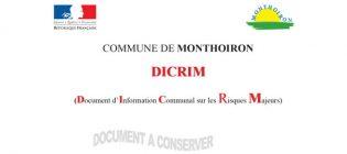 Document d'Information Communal sur les Risques Majeurs (DICRIM)