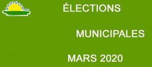 Élections municipales Résultat du 1er tour