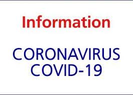CORONAVIRUS – INFORMATION