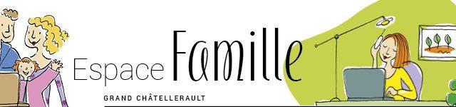 Accéder à l'espace famille de Grand Châtellerault